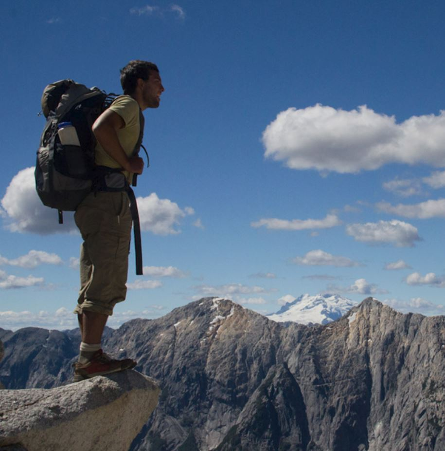 En el cumbre del Cerro La Junta.